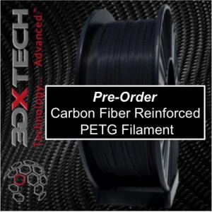 Filamento Fibra Carbono 3D