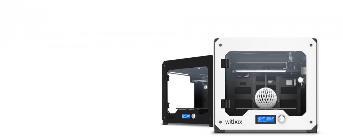 impresion 3D witbox
