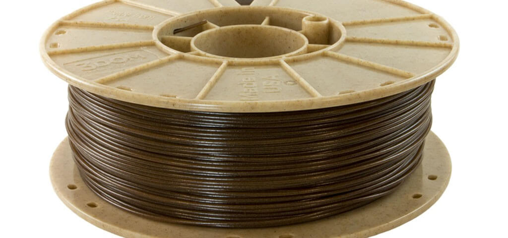 impresion3d wound up coffee filament