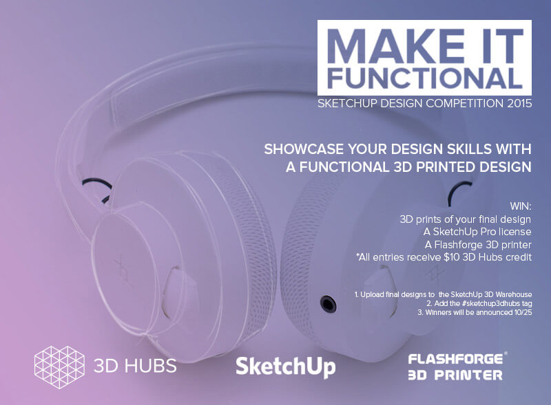 Make It Functional Competition 3DHubs