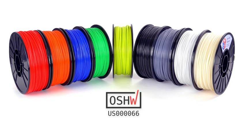 impresion3daily open source filament