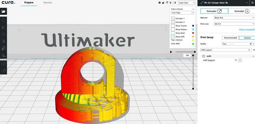 impresion3daily ultimaker cura 3.4