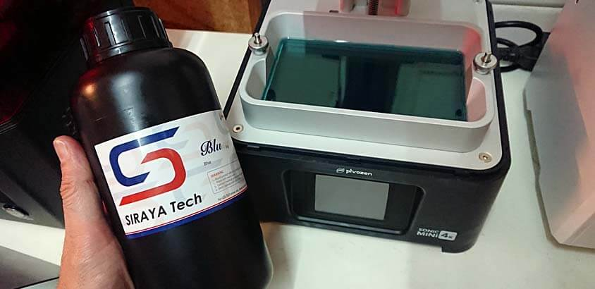 impresion3daily prueba resina siraya tech blu
