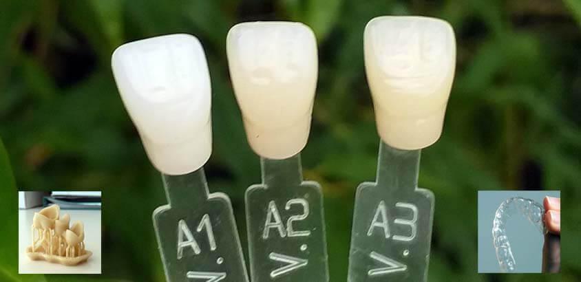 impresion3daily resinas 3d en aplicaciones dentales